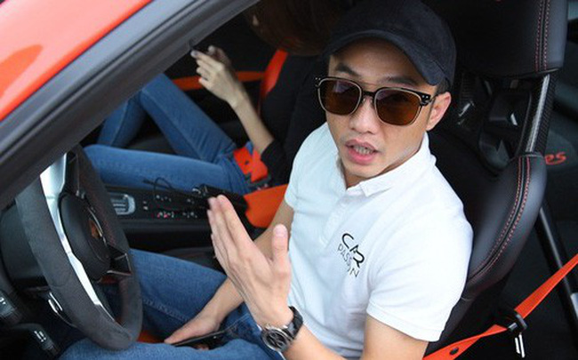 Vì sao Cường Đôla không sử dụng Lamborghini trong hành trình Car & Passion 2018?