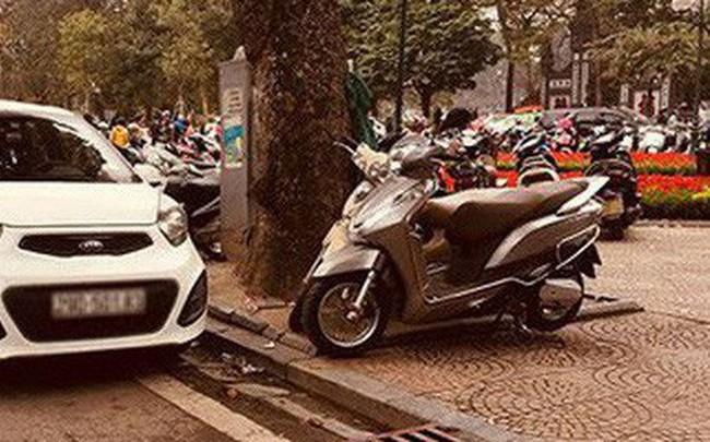 Lãnh đạo phường nói về bãi xe chặt chém khách lễ đền Ngọc Sơn