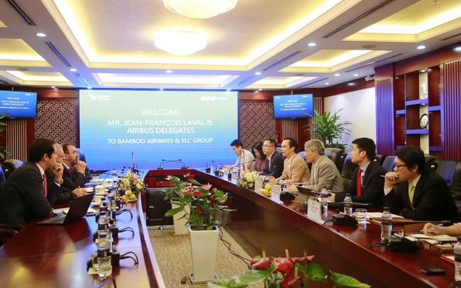 FLC và Airbus đạt được thoả thuận 3 tỷ USD mua 24 máy bay cho Bamboo Airways