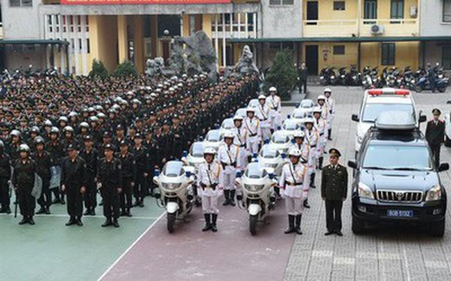 Đề xuất chế độ, chính sách cho lực lượng Cảnh vệ
