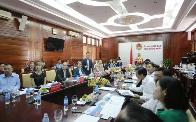 """Tập đoàn FLC sẽ triển khai """"siêu"""" dự án 3.890 ha tại Quảng Ngãi"""