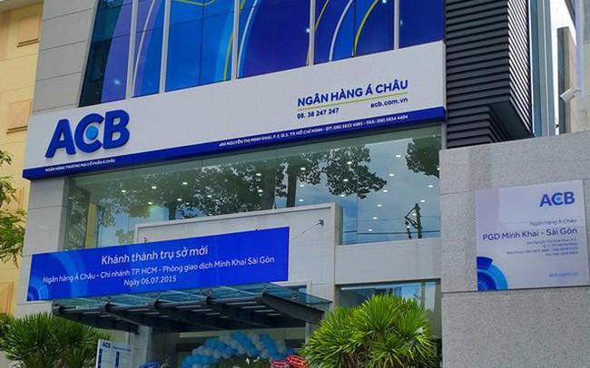 ACB: Ngày 21/3 chốt quyền nhận cổ tức 10% bằng cổ phiếu và tham dự ĐHĐCĐ 2018