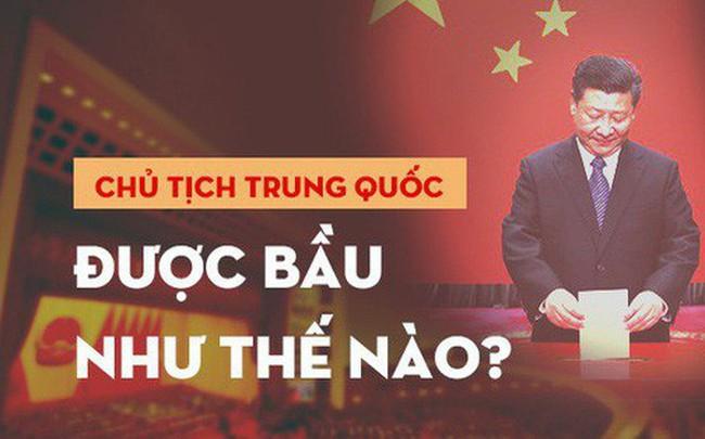 [Infographic] Chủ tịch, Phó Chủ tịch, Thủ tướng Trung Quốc được bầu như thế nào?