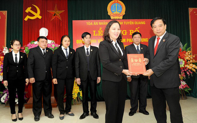 Tòa án nhân dân bổ nhiệm nhân sự mới