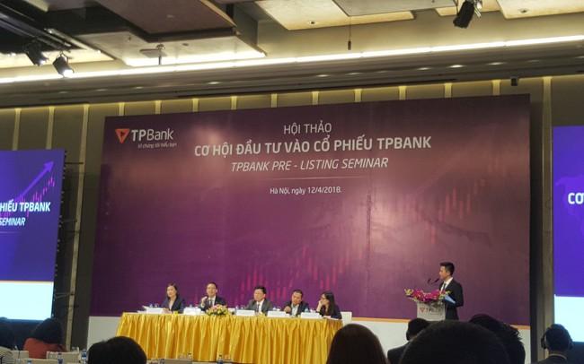 TPBank hứa chia cổ tức hàng năm tỷ lệ 10-15%