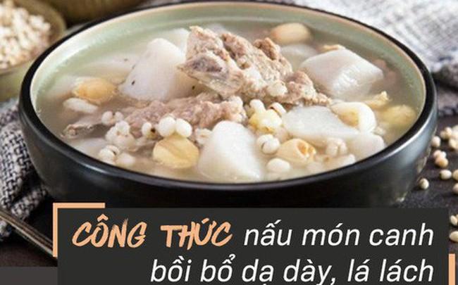 Lá lách, dạ dày khỏe thì ít bị bệnh: Danh y tiết lộ món ăn bổ tì vị nổi tiếng Đông y