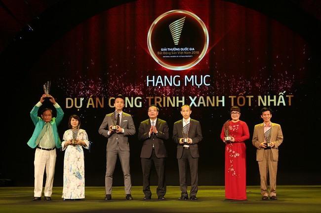 Nhà phát triển BĐS xanh Capital House đạt cú đúp Giải thưởng Quốc gia Bất động sản Việt Nam 2018