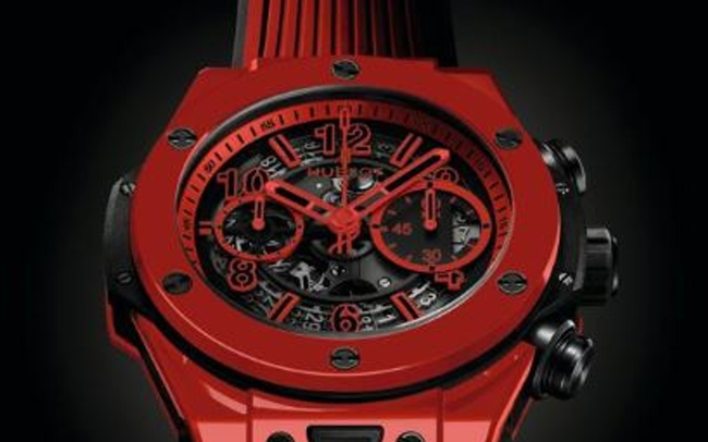Hublot ra mắt mẫu đồng hồ gốm ceramic đỏ ấn tượng tại Baseworld 2018