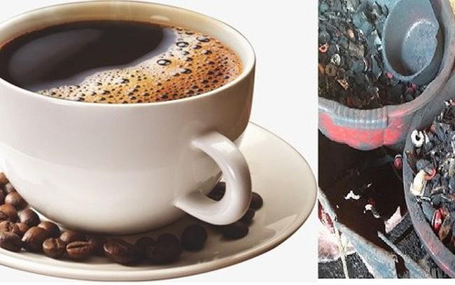 Tác hại kinh hoàng khi 'nhuộm' cà phê bằng lõi pin