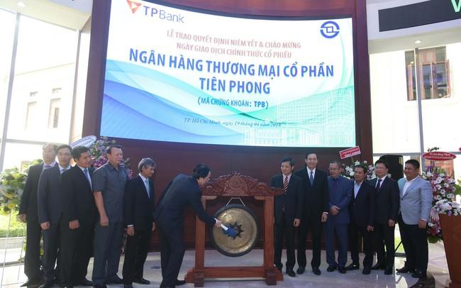 Cổ phiếu TPBank chính thức chào sàn HOSE
