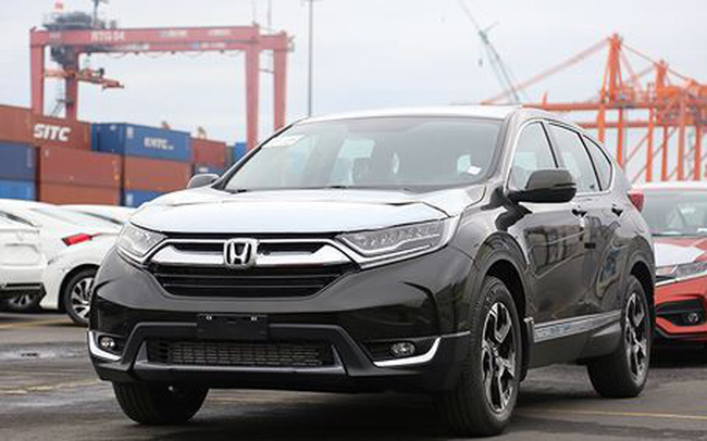 Honda Việt Nam bất ngờ tăng giá bán ôtô nhập khẩu miễn thuế