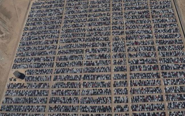 Hậu quả bê bối nhiên liệu: Xe Volkswagen mua lại chất đống ở Mỹ