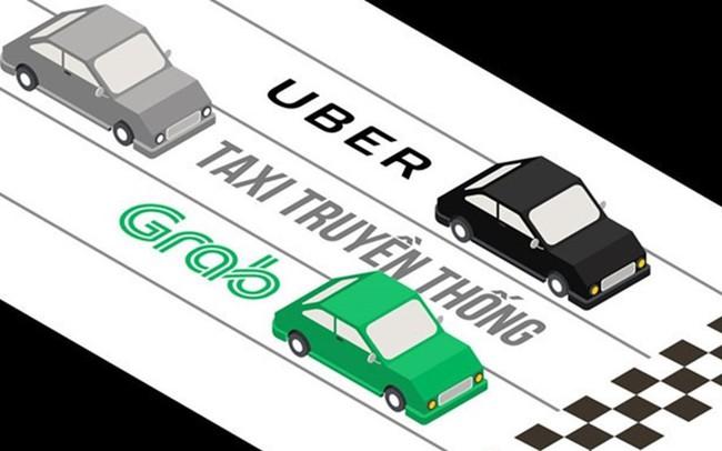 """Thương vụ Grab """"thâu tóm"""" Uber: """"Đấu trường sinh tử"""" của ông lớn taxi Việt"""