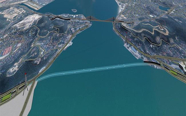 Quảng Ninh đề xuất xây hầm đường bộ qua vịnh Cửa Lục, tổng mức đầu tư 9.781 tỷ đồng