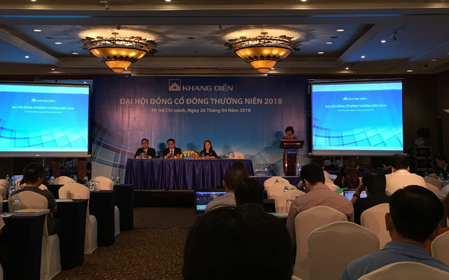 ĐHCĐ Khang Điền (KDH): Năm 2018 chuyển hướng đầu tư vào chung cư, dự kiến lợi nhuận 800 tỷ
