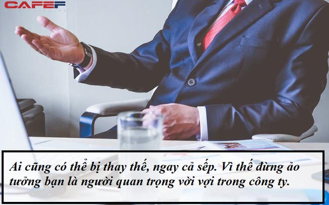Xin nghỉ việc vì một câu chỉ trích của cấp trên: Đừng quên rằng ai cũng có thể bị thay thế, kể cả sếp!