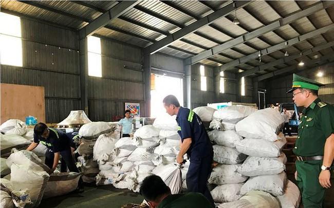 Gần 4 tấn vảy tê tê 'đột nhập' TPHCM qua container chở gỗ