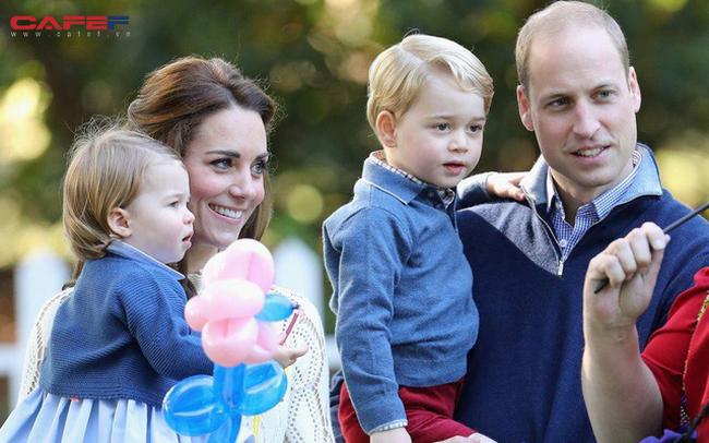 Đây là chi phí mà vợ chồng hoàng tử William phải bỏ ra để nuôi 3 em bé hoàng gia
