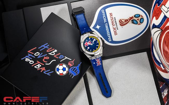 Hublot ra mắt mẫu đồng hồ thông minh dành riêng cho mùa World Cup, chỉ có 2018 chiếc trên toàn thế giới