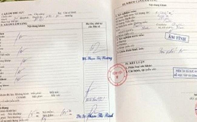 Giấy khám sức khỏe Bệnh viện E được rao bán trên mạng: Chữ ký, con dấu đều là giả