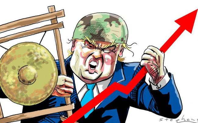 Niềm vui ngắn chẳng tày gang, Tổng thống Trump dọa đánh thuế 100 tỷ USD với hàng hóa Trung Quốc, Dow Jones tương lai giảm 400 điểm dù mới tăng 240 điểm