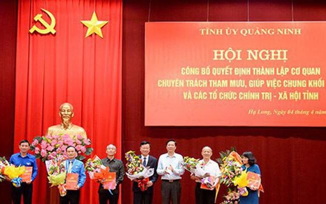 Quảng Ninh thành lập Cơ quan tham mưu giúp việc chung đầu tiên trong cả nước