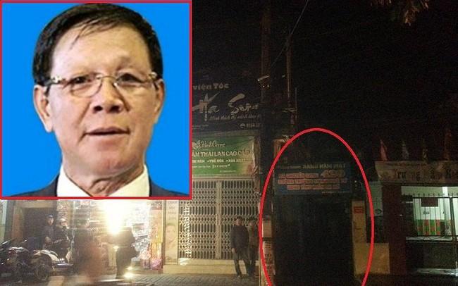 Khám xét nhà ông Phan Văn Vĩnh trong đêm