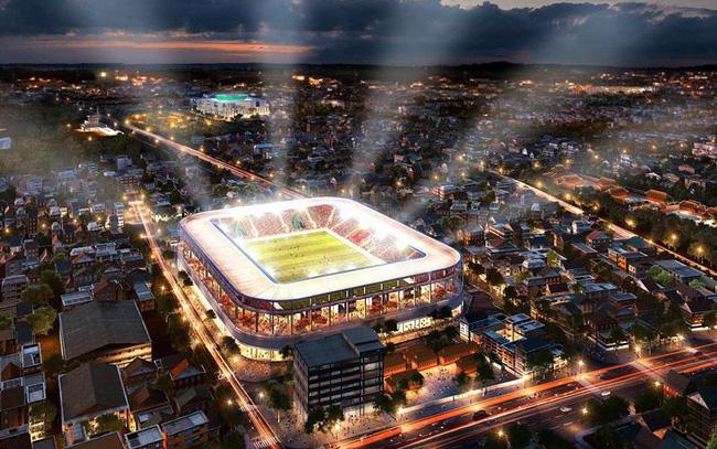 Bầu Hiển xây sân vận động Hàng Đẫy mới 250 triệu Euro trông như sân bóng Ngoại hạng Anh