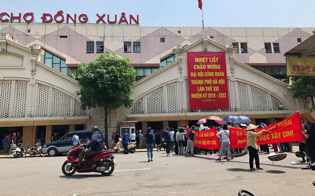 """Không có chuyện """"dẹp"""" chợ Đồng Xuân để xây trung tâm thương mại"""