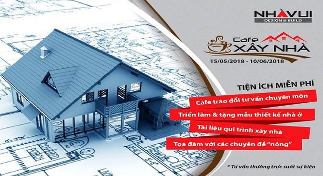 """""""Cà phê xây nhà"""" - sự kiện hữu ích và thiết thực dành cho khách xây nhà"""