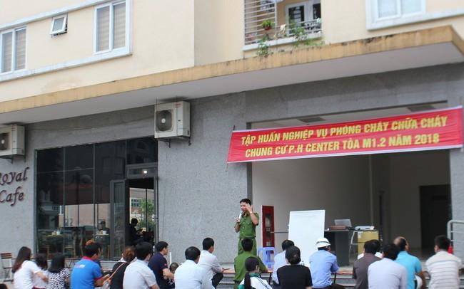 Doanh nghiệp BĐS đẩy mạnh diễn tập phòng cháy, chữa cháy cho cư dân