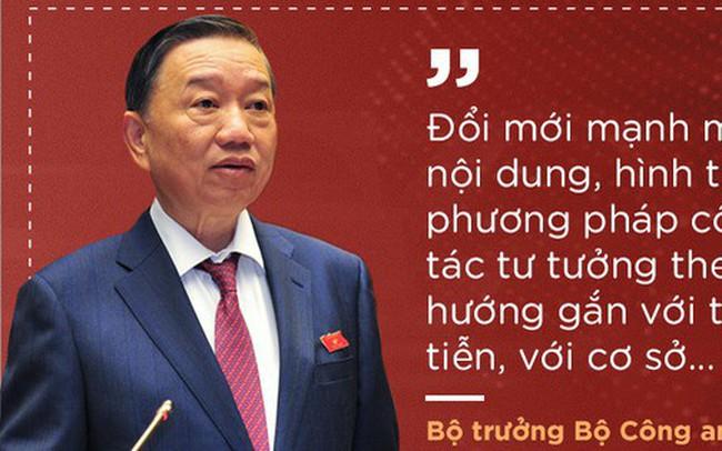 Thượng tướng Tô Lâm nêu 7 nhiệm vụ, giải pháp để lực lượng công an trong sạch, vững mạnh