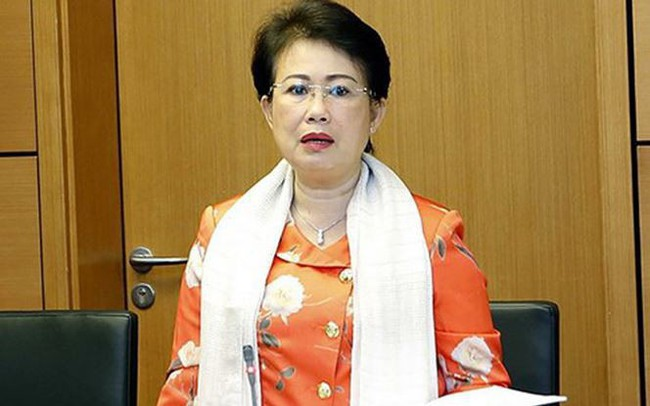 Bà Phan Thị Mỹ Thanh thôi làm nhiệm vụ đại biểu Quốc hội