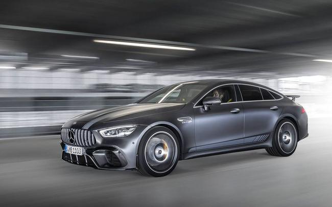 Chiêm ngưỡng Mercedes AMG GT Coupe 4 cửa thuộc dòng xe đẹp nhất thị trường, không chỉ sang trọng mà còn mạnh mẽ đúng chất 'siêu xe'