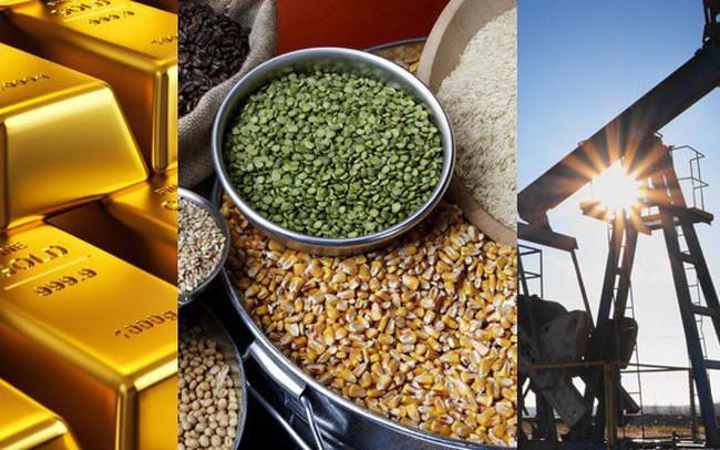 Thị trường hàng hóa ngày 16/5: Vàng xuống đáy năm 2018, quặng sắt, than đá và thép tăng lên mức cao nhiều tuần