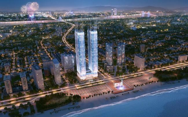 Tháp đôi 50 tầng trên đất vàng Đà Nẵng gây sốt, không phải T&T Group là chủ đầu tư, một đại gia bí ẩn Sài Gòn mới là ông chủ dự án này