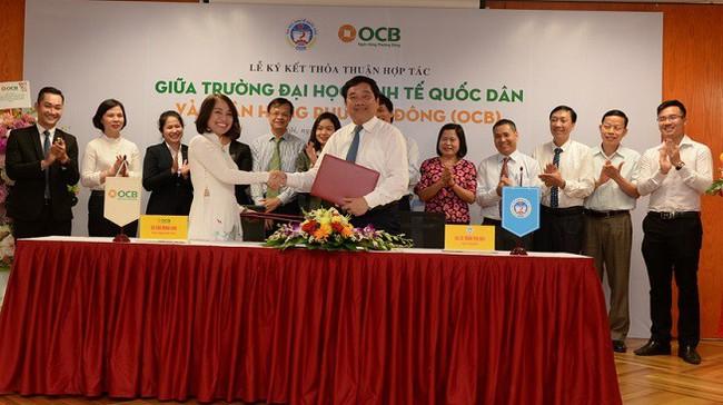 Ngân hàng TMCP Phương Đông ký kết thỏa thuận Hợp tác với Trường Đại Học Kinh Tế Quốc Dân