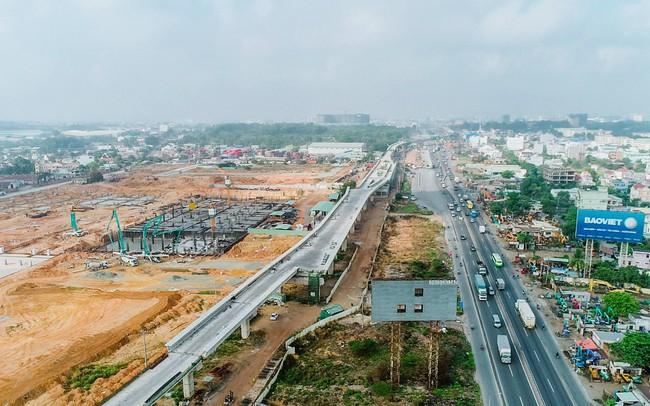 Toàn cảnh đại công trường hạ tầng giao thông quy mô lớn trải dài khắp khu Đông TP.HCM