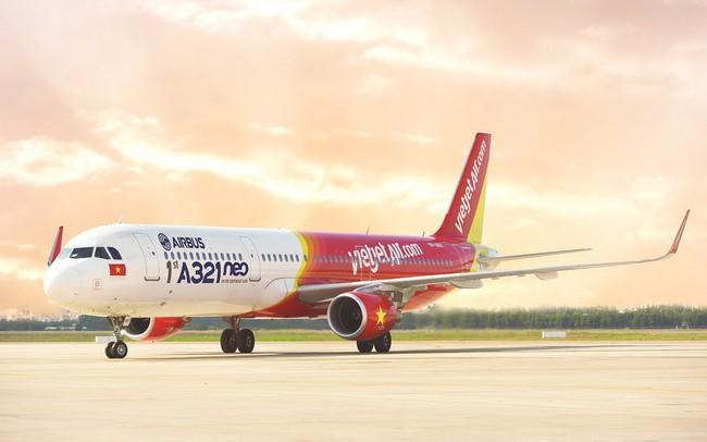 Quý 1, Vietjet báo lãi hơn 1.480 tỷ đồng, doanh thu và lợi nhuận vận tải hàng không tăng trưởng vượt bậc