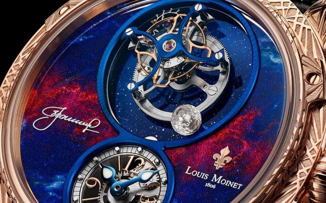 """Cận cảnh siêu phẩm đồng hồ """"thu nhỏ"""" cả cuộc du hành vào không gian đầu tiên của loài người trên cổ tay, chỉ có 12 phiên bản trên toàn thế giới"""