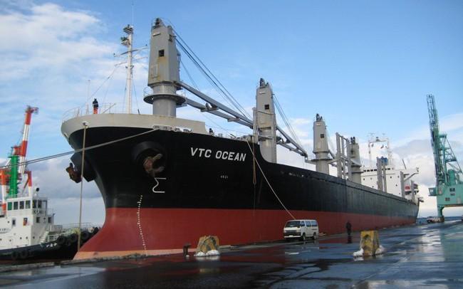 Vietcombank bán đấu giá khoản nợ của Vận tải và Thuê tàu biển Việt Nam Vintranschart