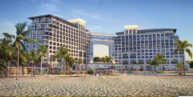 """Những hình ảnh cực """"chất"""" về dòng khách sạn 5n sao FLC Grand Hotel Quang Binh"""