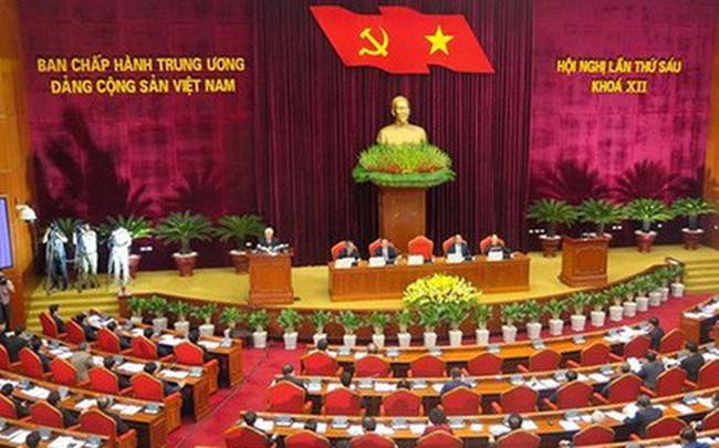 Sáng nay, Hội nghị Trung ương 7 khóa XII khai mạc tại Hà Nội