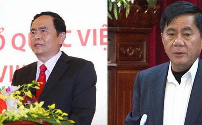 Ông Trần Thanh Mẫn và ông Trần Cẩm Tú được bầu bổ sung vào Ban Bí thư Trung ương