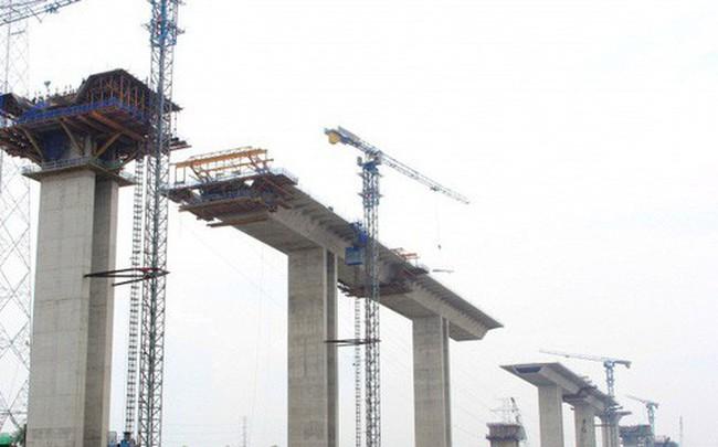 Ngắm cầu dây văng Bình Khánh cao nhất Việt Nam dần hiện hữu