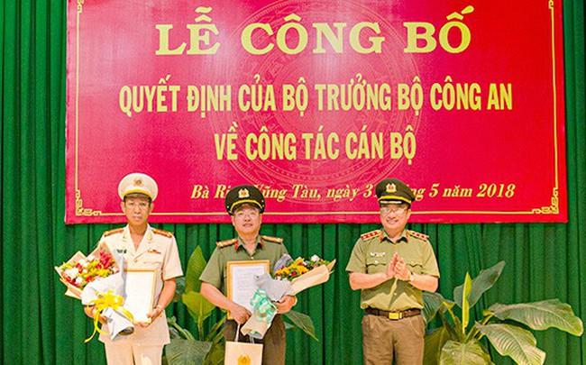 Bộ Công an bổ nhiệm Giám đốc Công an tỉnh Bà Rịa -Vũng Tàu