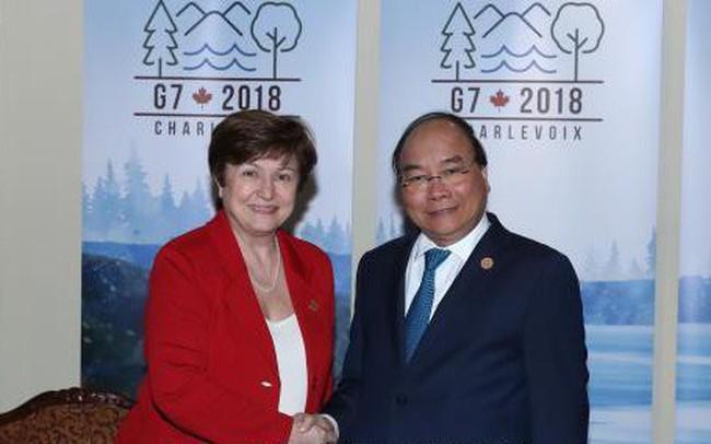 Thủ tướng đề nghị World Bank tiếp tục giúp Việt Nam tiếp cận vốn ưu đãi