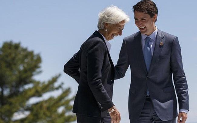 """Tổng giám đốc IMF lo """"mây đen che phủ kinh tế toàn cầu"""""""