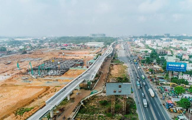 Lộ diện vùng tứ giác địa ốc đầy sôi động quanh Sân bay Long Thành