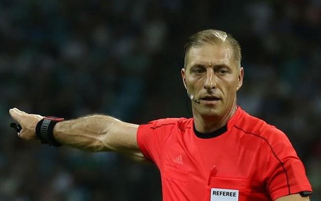 Lộ diện trọng tài bắt chính trận khai mạc World Cup 2018